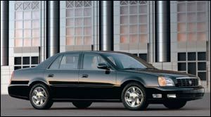 cadillac deville DTS