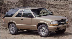 chevrolet blazer LS Base