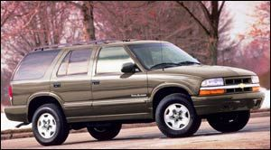 chevrolet blazer Trailblazer