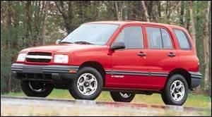 2000 chevrolet tracker specifications car specs auto123
