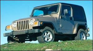 Amazing Jeep Tj SE