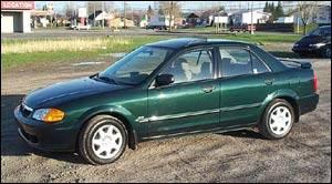 High Quality Mazda Protege SE