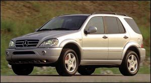 2000 mercedes benz m class specifications car specs for Mercedes benz ml350 msrp