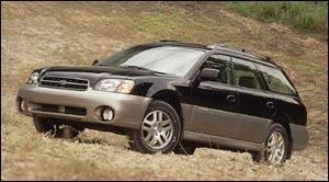 Subaru legacy outback 2000