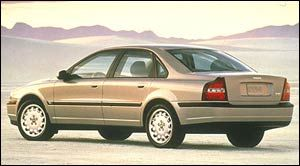 2000 volvo s80 specifications