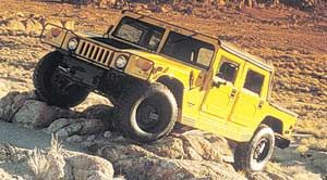 am-general hummer HMC0 Toit souple