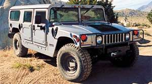 am-general hummer HMCS Wagon