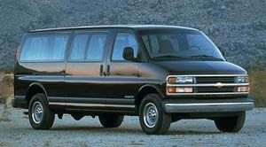 chevrolet express Empattement long base