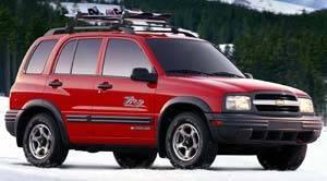 2001 chevrolet tracker specifications car specs auto123