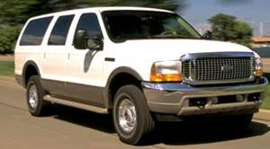 ford excursion XLT 4x2