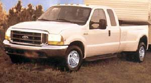 2001 f350 dually weight