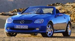2001 mercedes slk