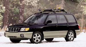 subaru forester Blue Ridge SE