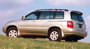 Toyota Highlander 2wd