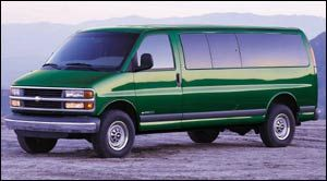 chevrolet express base Empattement Long