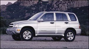 chevrolet tracker 4 Doors