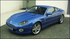 aston-martin db7 Coupé