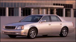 cadillac deville DTS1