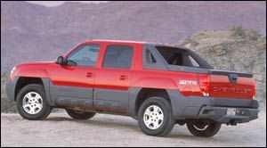 2003 Chevrolet Avalanche Specifications Car Specs Auto123