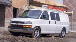 chevrolet express 3500 Empattement Long