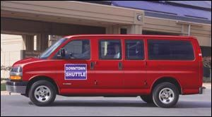 chevrolet express Empattement Long