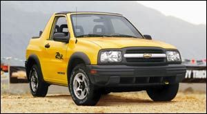 chevrolet tracker ZR2