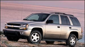 chevrolet trailblazer LS