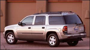 chevrolet trailblazer LT 4x4