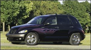 chrysler pt cruiser 2003 fiche technique auto123. Black Bedroom Furniture Sets. Home Design Ideas