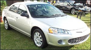 chrysler sebring LX Plus