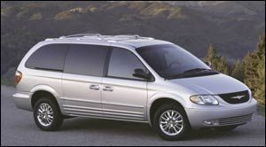 chrysler town-country LXi