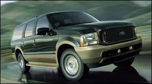 ford excursion XLT 4x4
