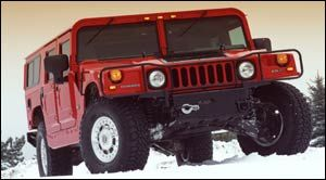 hummer h1 4 Door Open Top