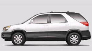 buick rendezvous CX Plus