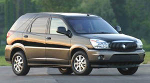 buick rendezvous CXL Plus