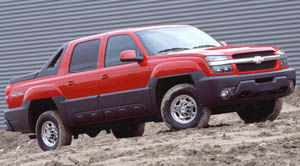 chevrolet avalanche 2500 4RM