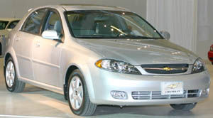 chevrolet optra Base
