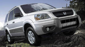 honda pilot Édition Granite