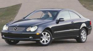 2004 mercedes clk500 specs