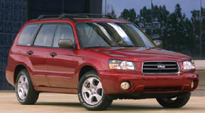 subaru forester 2.5 XS PP1