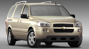 chevrolet uplander Value