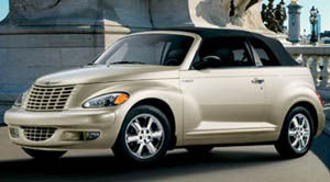 chrysler pt cruiser 2005 fiche technique auto123. Black Bedroom Furniture Sets. Home Design Ideas