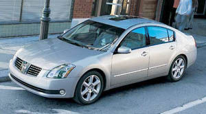 2005 nissan maxima specifications car specs auto123. Black Bedroom Furniture Sets. Home Design Ideas