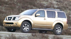 Attractive Nissan Pathfinder LE