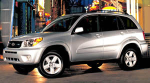Technical Specifications 2005 Toyota Rav4