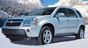 2006 chevrolet equinox specifications car specs auto123. Black Bedroom Furniture Sets. Home Design Ideas