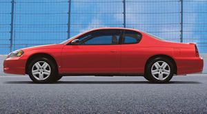 2006 chevrolet monte carlo | specifications - car specs | auto123