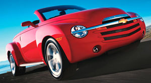 chevrolet ssr Base