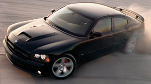 charger srt8 2006 hp