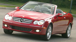 Consommation Mercedes Clk  Cabriolet